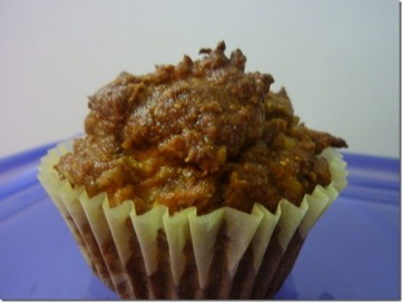 pumpkin carrot muffin