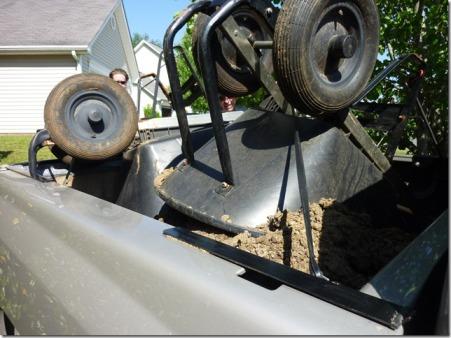 truck of dirt