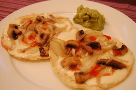 tostada tacos