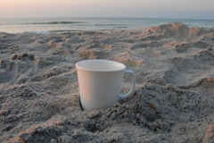coffee at sunrise