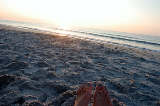 sunrise toes