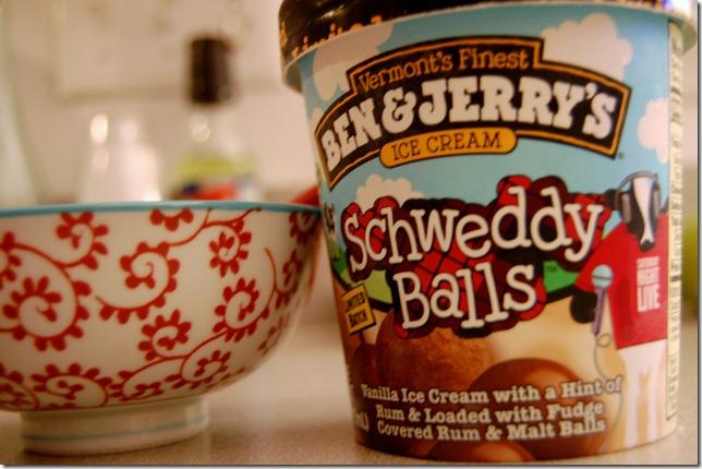 balls ice cream